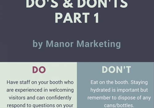 Booth Etiquette - A guide for your employees at shows & events [Infographic]