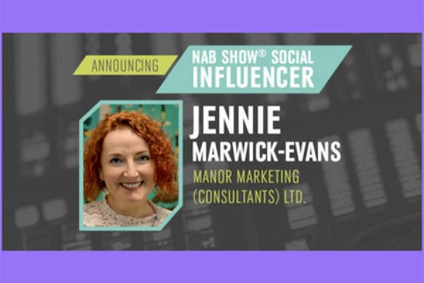 Jennie Marwick-Evans named as NAB Show Official Media Influencer 2018