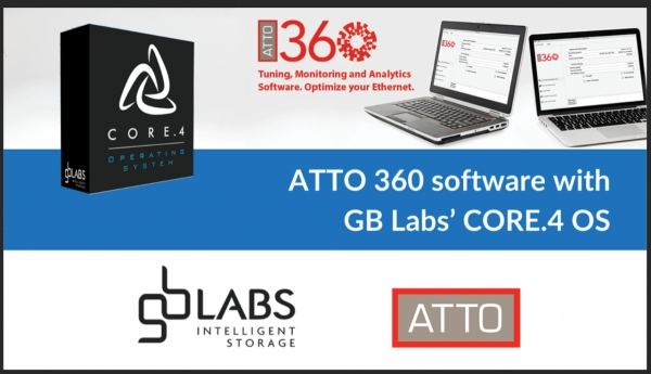 GB Labs qualifies ATTO 360 Tuning, Monitoring, and Analytics Software to achieve even faster performance