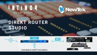Intinor connects to the American broadcast industry through JB&A and NewTek