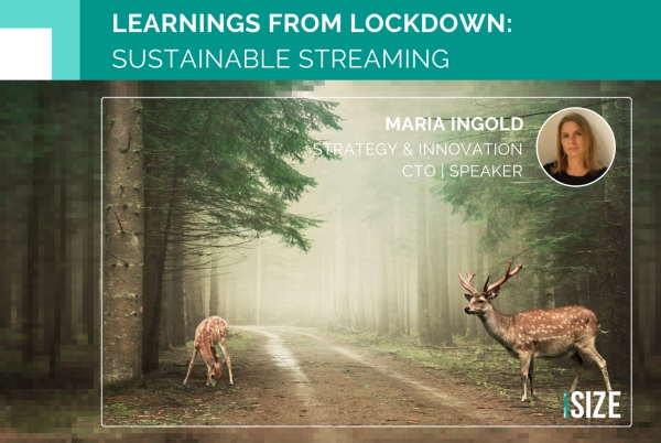 iSIZE: Learnings from Lockdown - Sustainable Streaming