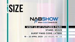 iSize Technologies to showcase BitSave v.2, the next-generation AI-powered Technology and SaaS Video Encoding Platform at NAB 2020